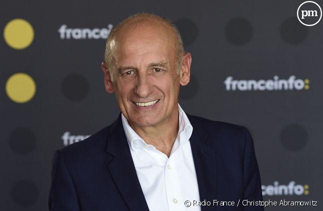 Jean-Michel Aphatie journaliste sur franceinfo