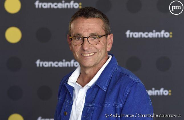 Guy Birenbaum présentateur sur franceinfo