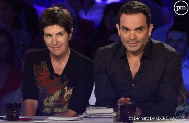 """Christine Angot et Yann Moix, polémistes d'""""On n'est pas couché"""""""