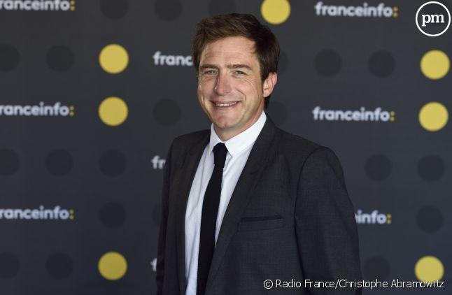 Jean-Mathieu Pernin présentateur sur franceinfo