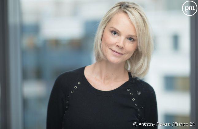 Vanessa Burggraf, directrice de la rédaction de France 24