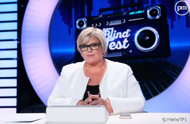 "Laurence Boccolini anime ""Le Grand blind test"" sur TF1"