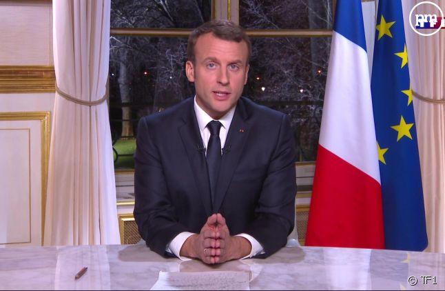 Les voeux d'Emmanuel Macron