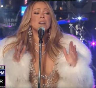 Mariah Carey prend sa revanche en live à New York