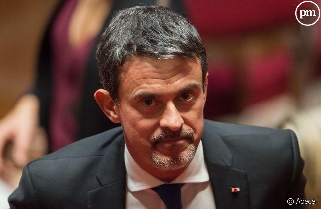 Manuel Valls est en colère et l'a fait savoir sur son compte Twitter