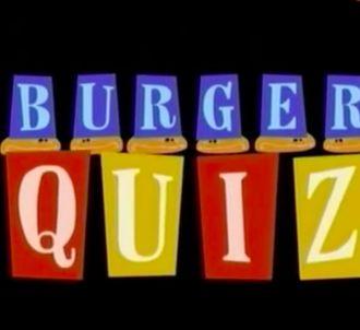 La première émission de 'Burger Quiz' en 2001