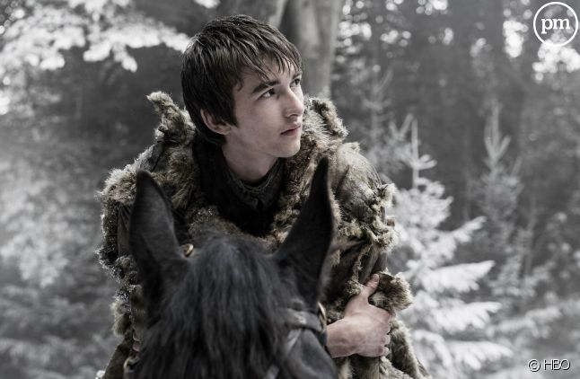 "Isaac Hempstead Wright alias Bran Stark dans ""Game of Thrones"""
