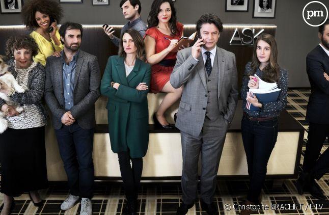 """Le cast de """"Dix pour cent"""" saison 2"""