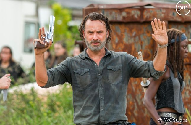 "Andrew Lincoln dans ""The Walking Dead"""