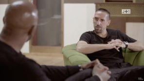 """""""J+1"""" : L'énorme faux-raccord lors d'une interview de Franck Ribéry"""