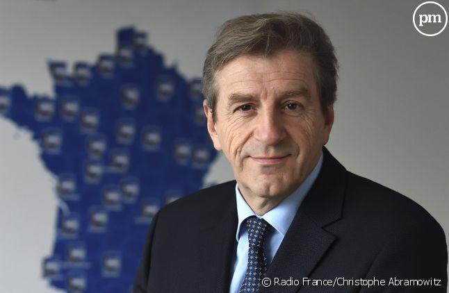 Eric Revel, patron de France Bleu