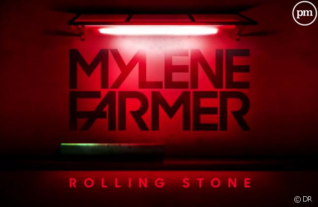 """Le teaser """"Rolling Stone"""" de Mylène Farmer"""