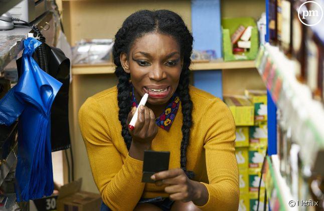 "Michaela Coel dans ""Chewing Gum"""
