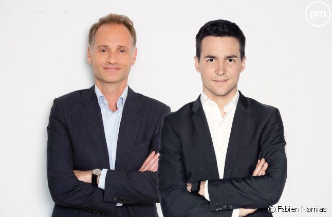 Fabien Namias et Adrien Gindre