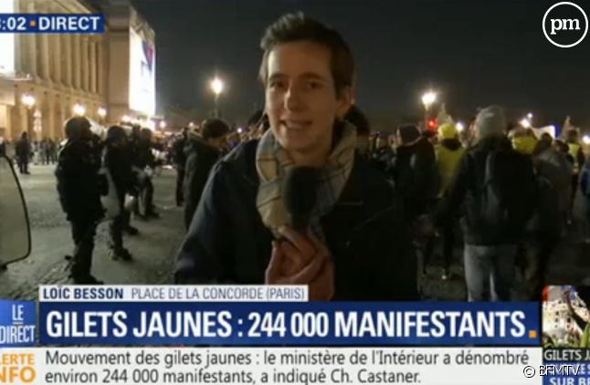 Loïc Besson, journaliste de BFMTV