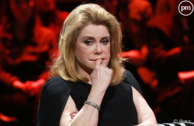 Catherine Deneuve furieuse après Laurent Delahousse