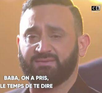 Cyril Hanouna en larmes dans 'Touche pas à mon poste'