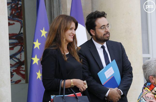 Marlène Schiappa et Mounir Mahjoubi
