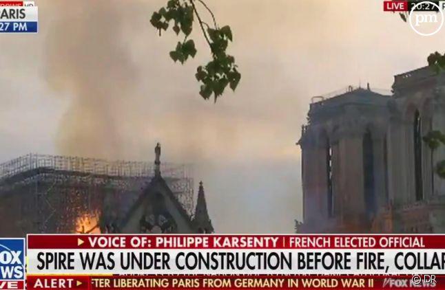 Un élu français dérape en direct sur Fox News