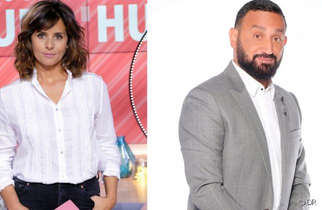 Faustine Bollaert et Cyril Hanouna