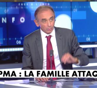 Eric Zemmour sur CNews le mardi 15 octobre 2019