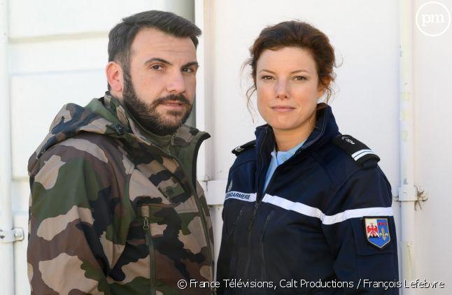Laurent Ournac et Hélène Degy.