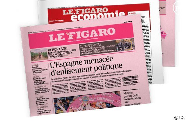 """Un numéro spécial du """"Figaro"""" en date du 14 février"""