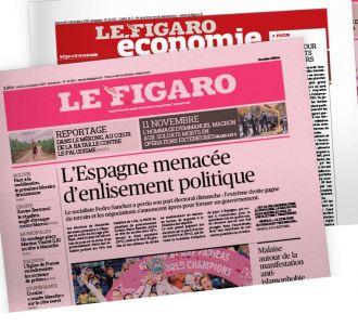 Un numéro spécial du 'Figaro' en date du 14 février