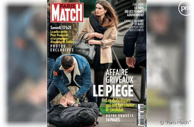 """La Une de """"Paris Match"""""""