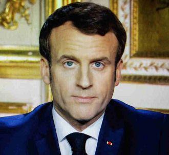 Emmanuel Macron lors de son allocution du 16 mars 2020