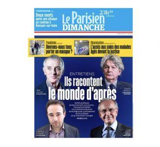 'Ils racontent le monde d'après' en Une du 'Parisien'