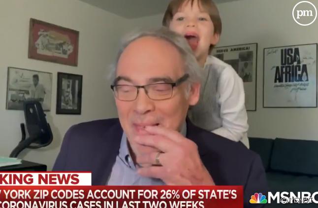 Un expert en fâcheuse posture à la télévision américaine