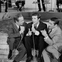Guy Lux, Salvatore Adamo et  Jean Bardin en 1966