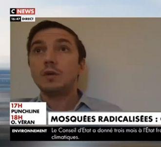 Aurélien Taché défend la polygmaie sur CNews.