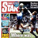 "Diego Maradona en Une du ""Daily Star""."