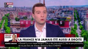 Jordan Bardella se plaint de l'absence du RN sur CNews... sur CNews