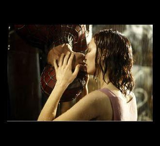Tobey Maguire et Kirsten Dunst dans 'Spider-Man'.