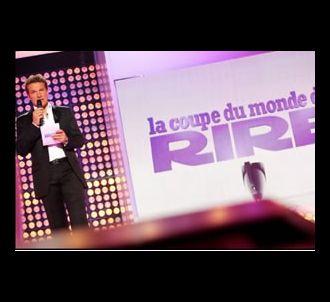 Benjamin Castaldi présente 'La coupe du monde du rire'...
