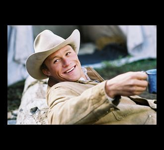 Heath Ledger dans 'Le Secret de Brokeback Mountain'.