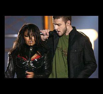 Janet Jackson et Justin Timberlake lors du Super Bowl en...