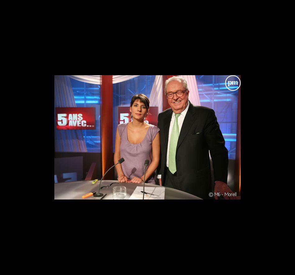"""Jean-Marie Le Pen invité de """"5 ans avec..."""" sur M6 (dimanche 04 mars 2007)"""