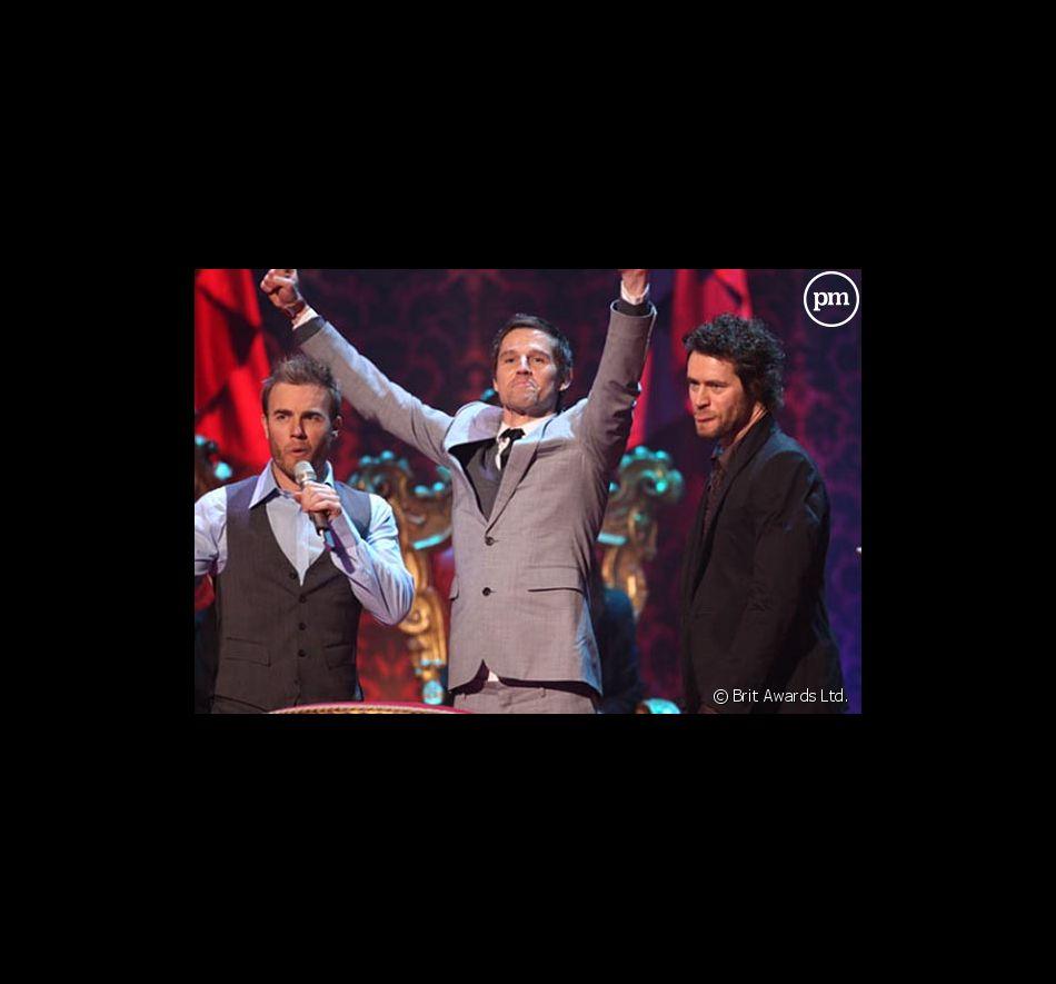 Trois membres des Take That aux Brit Awards