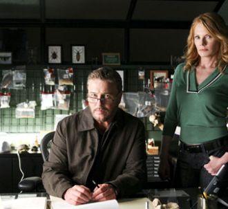 William Petersen et Marg Helgenberger dans 'Les Experts'