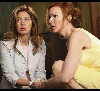 Dana Delany et Marcia Cross dans 'Desperate Housewives'