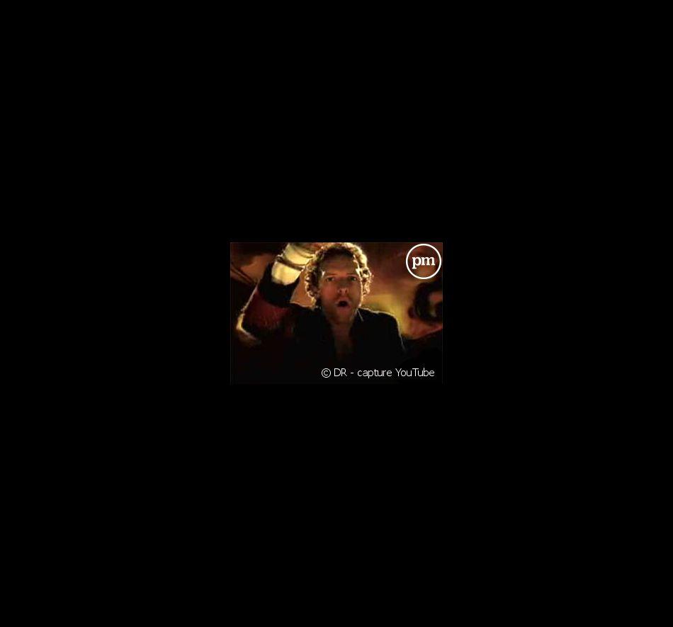 """Chris Martin dans le clip de """"Viva La Vida"""""""