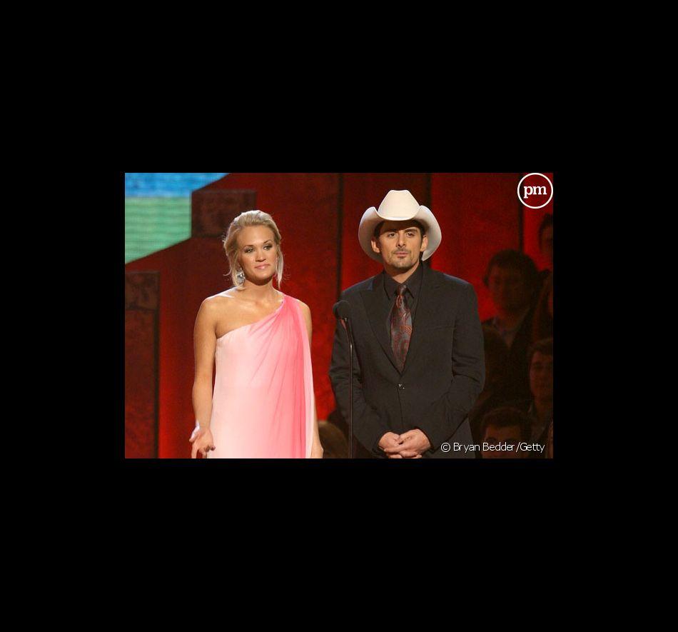 Carrie Underwood et Brad Paisley présentaient les CMA Awards 2008