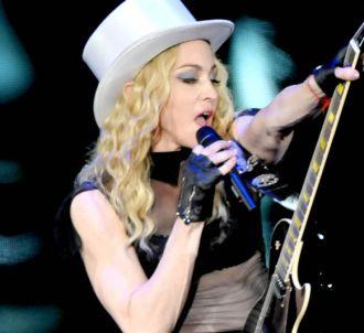 Madonna sur scène à Sao Paulo