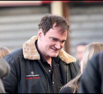 Quentin Tarantino sur le Tournage de son dernier film...