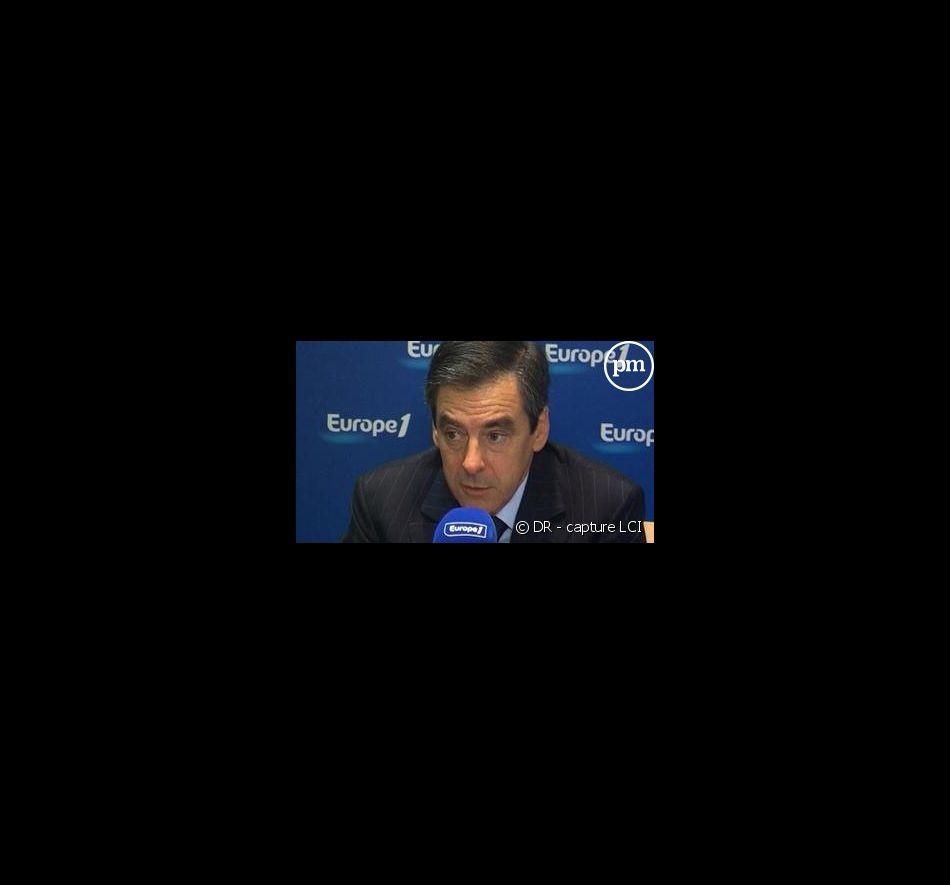 François Fillon au micro d Europe 1