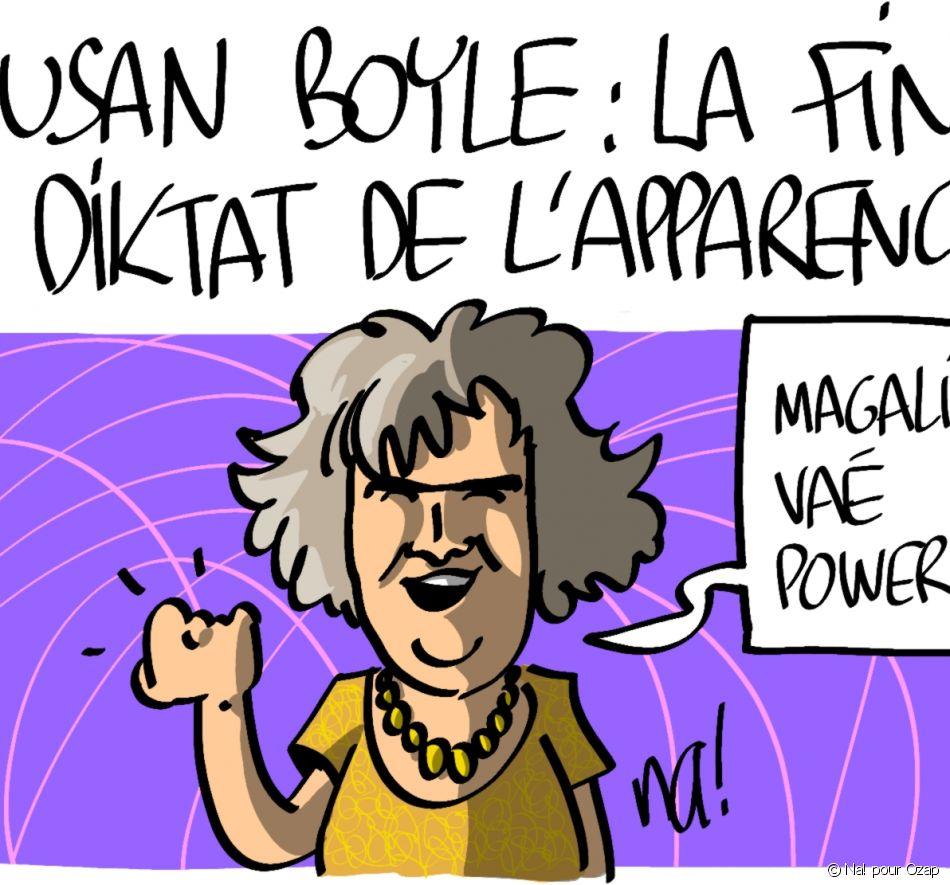 Susan Boyle : la fin du diktat de l apparence ?